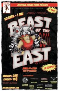 Beast of the East 2011 poster