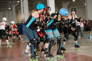 Death Track Dolls vs Smoke City Betties