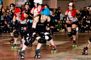 The Betties defeat by the Dolls was their largest loss in three years. (Photo by Neil Gunner)