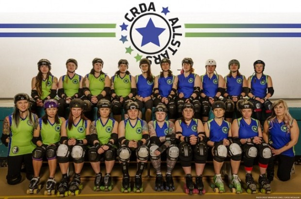 Photo by Brangwyn Jones from CRDA All Stars home page